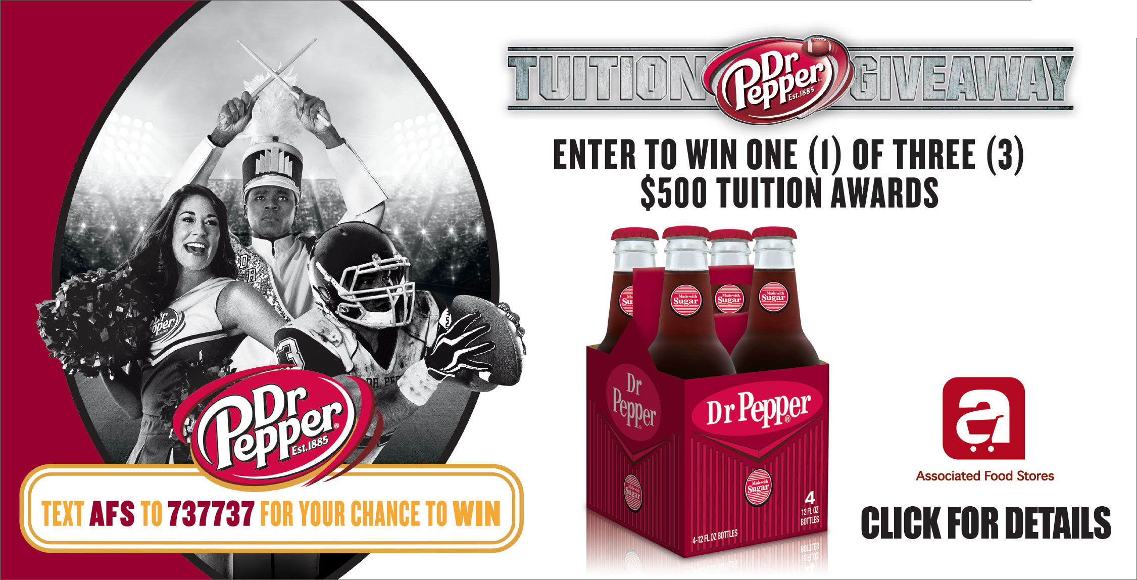 winner of dr pepper tuition giveaway
