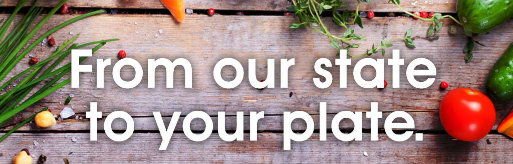 From our State to Your Plate Blog Header