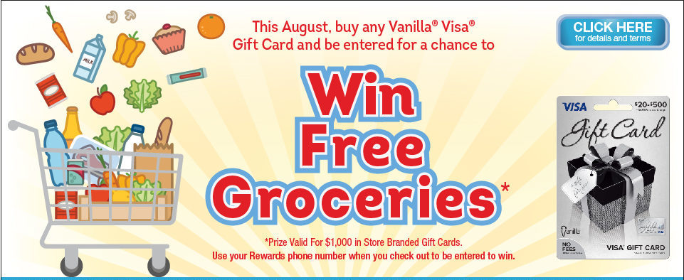 Win $1000 in Free Groceries! | My Blog