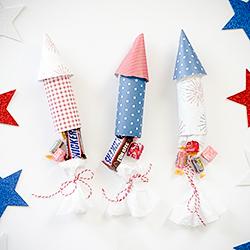 DIY Patriotic Candy Poppers