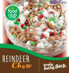 Bringing Baking Back Food Club Reindeer Chow