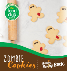 Bringing Baking Back Food Club Zombie Cookies