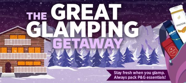 Win a Glamping Getaway Click for Details