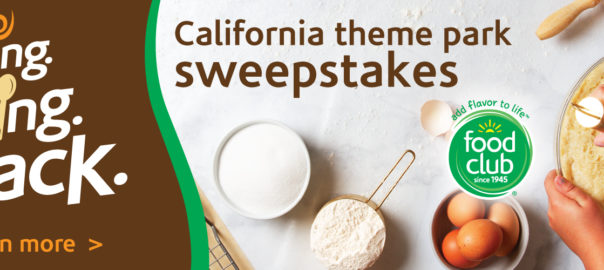 Bringing Baking Back California Sweepstakes