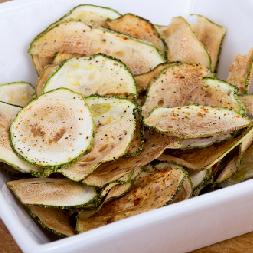 Bowl of Zucchini Chips