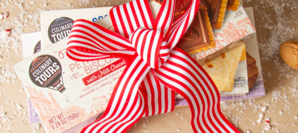 Gift wrapped culinary tour products