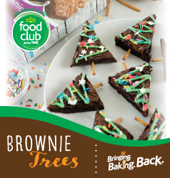 Food Club Brownie Trees Recipe