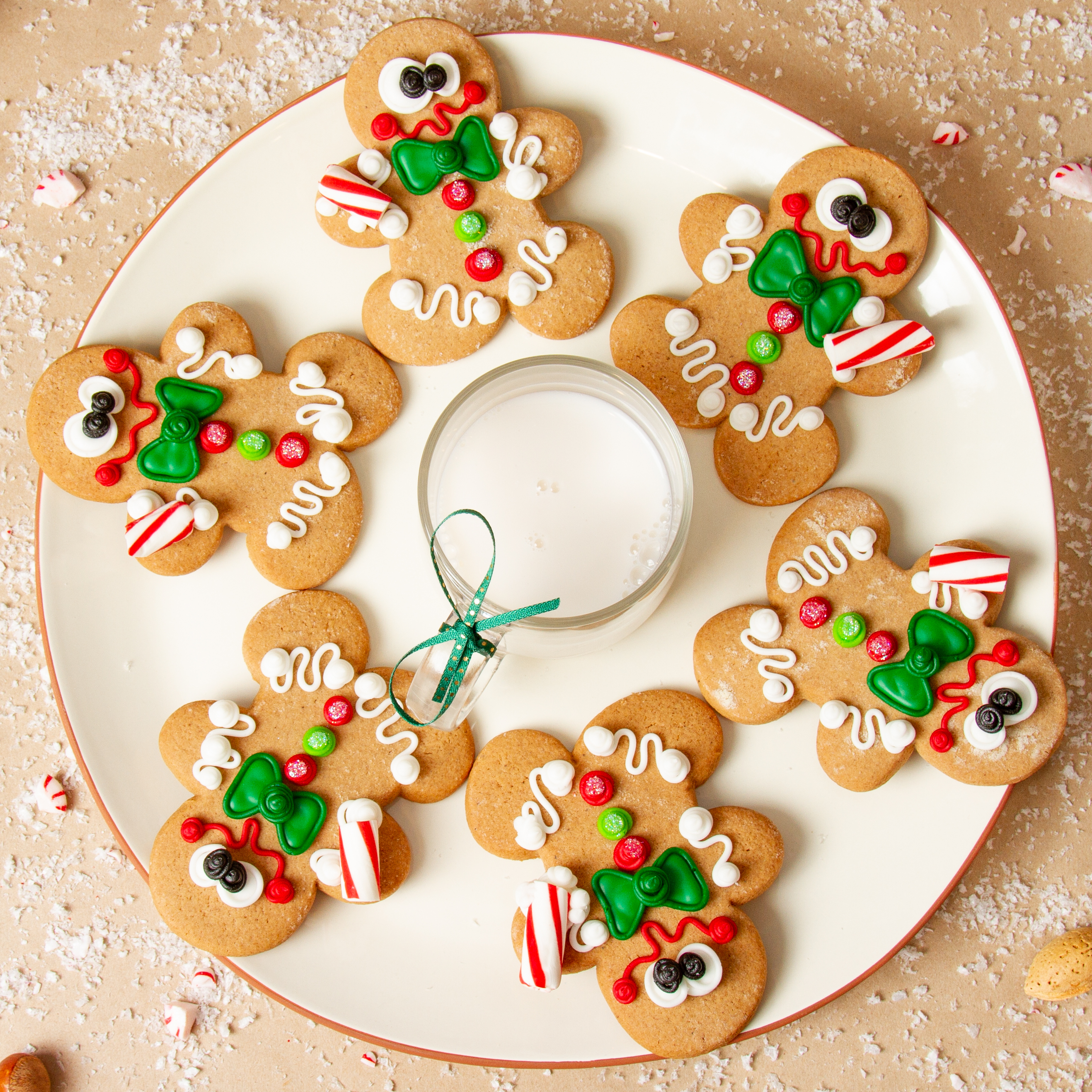 Frosted Gingerbread Men
