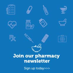 Pharmacy Newsletter Signup