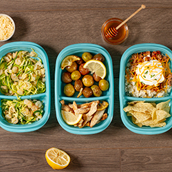 Meal Prep Containers 3 Ways