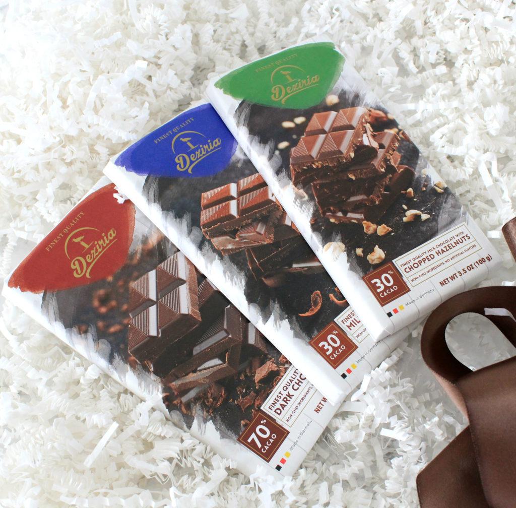 Desiria Chocolate in 3 flavors