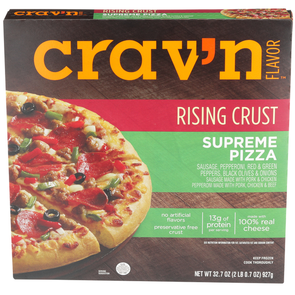 Rising Crust Supreme Pizza