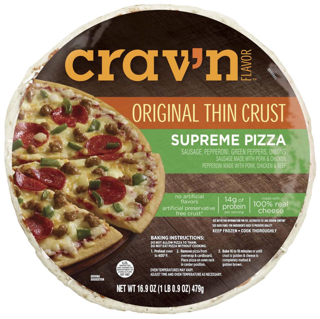 Original Thin Crust Supreme Pizza