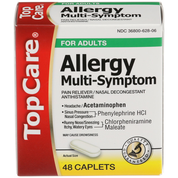 Top Care Allergy Multi Symptom Box