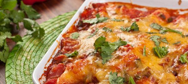 Food Club Chicken Enchiladas