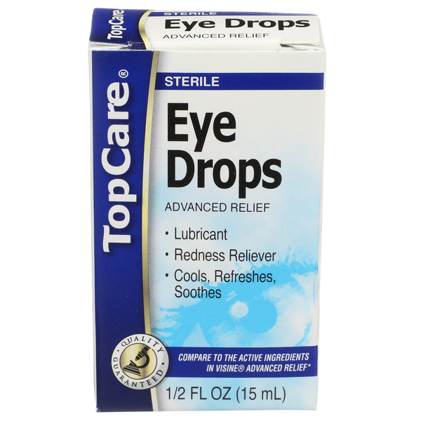 Top Care Eye Drops Box