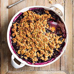blueberry mango crisp