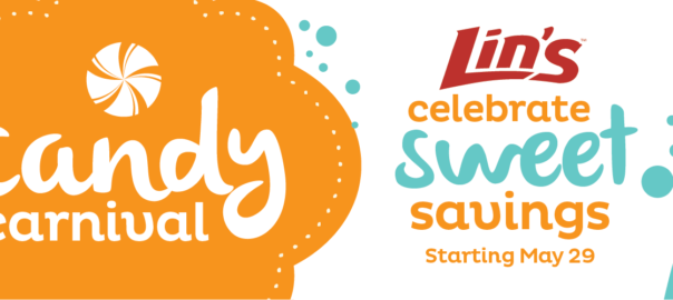lin's candy carnival sweet savings may 29