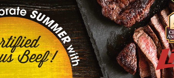 celebrate summer with certified angus beef®