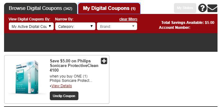 my digital coupons instructions