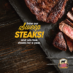 enter to win free steak for a year from certified angus beef
