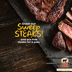 win free steak from certified angus beef