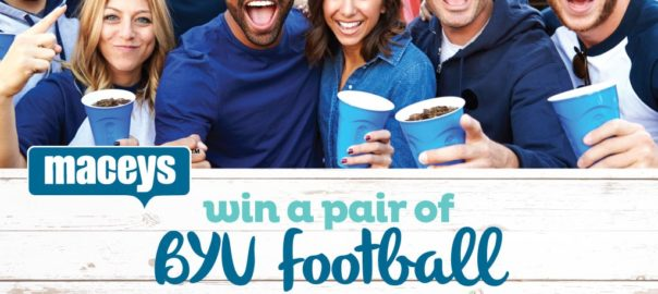 Win a pair of BYU football tickets or a $50 Macey's gift card