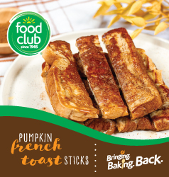 Food Club Pumpkin French Toast Sticks