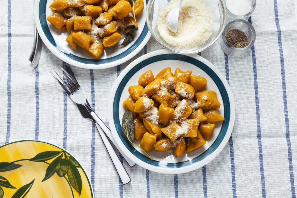 Pumpkin Gnocchi and Browned Butter