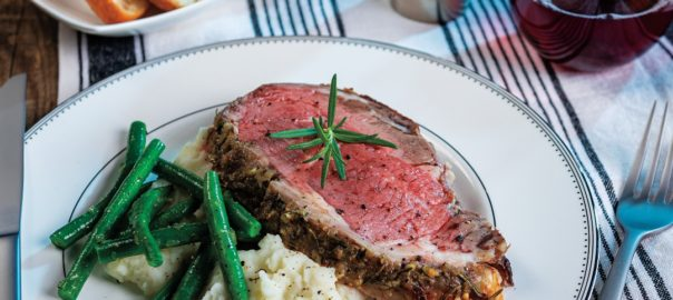 Rosemary Garlic Prime Rib