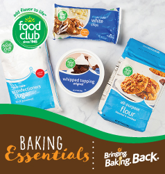 Food Club Baking Items