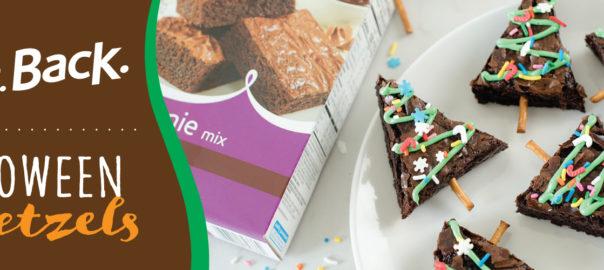 Bringing Baking Back Food Club Christmas Tree Brownies