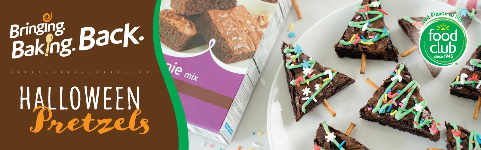 Food Club®Christmas Tree Brownies