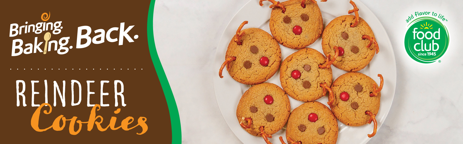 Food Club®Reindeer Cookies