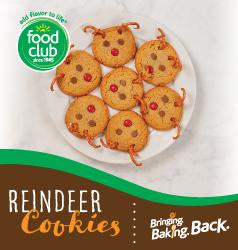 Bringing Baking Back Food Club Reindeer Cookies