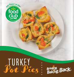 Bringing Baking Back Food Club Turkey Pot Pies