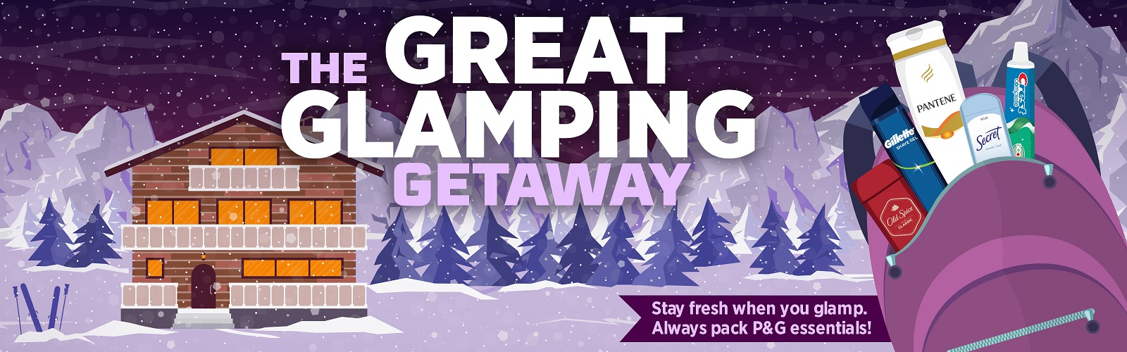 Great Glamping Giveaway