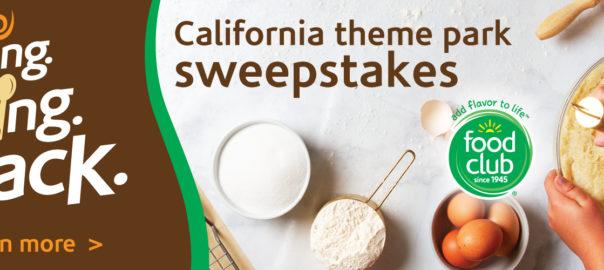 Bringing Baking Back California Sweepstakes