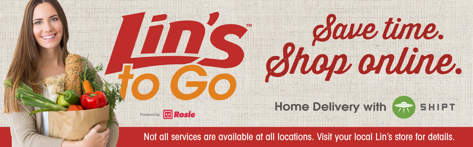 Save Time with Lin's to Go