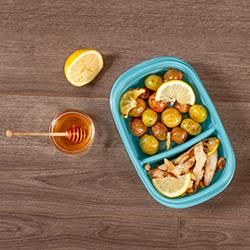 Honey Lemon Chicken with Potatoes