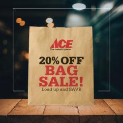 20% Bag Sale