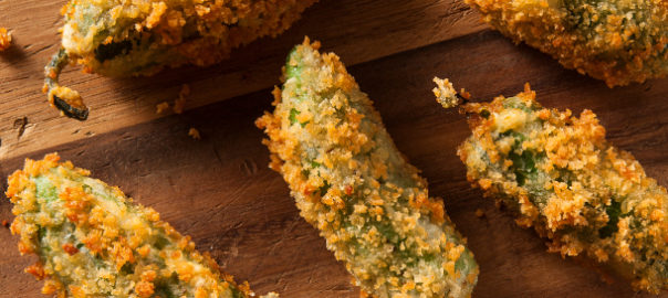 Deep fried jalapeno poppers