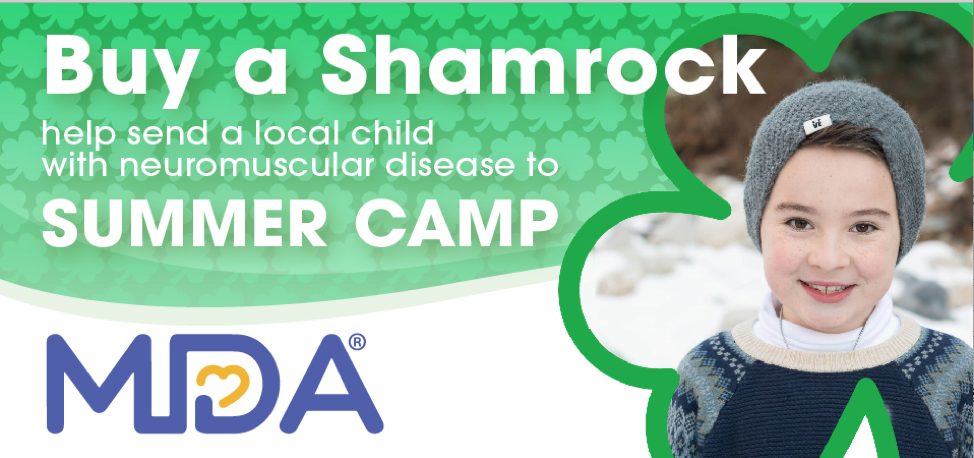 Muscular Dystrophy Association Shamrocks