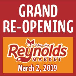 Reynolds Grand Opening