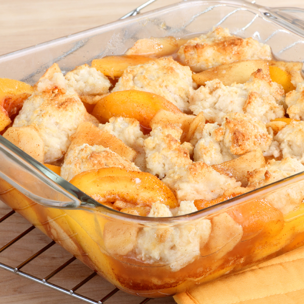 Food Club® Peach Cobbler
