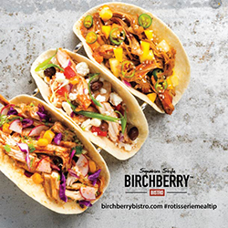 Rotisserie Chicken Pulled Tacos in Three Versions