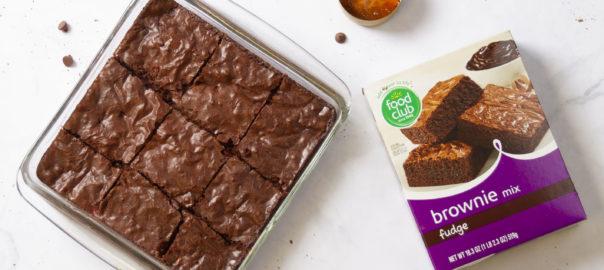 Food Club M&M Brownies