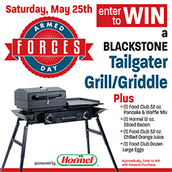 Armed Forces Day Grill Giveaway
