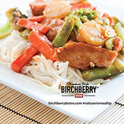 Birchberry Bistro Orange Chicken Teriyaki Stir Fry