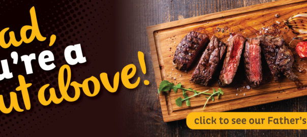 dad, you're a cut above! macey's fathers day deals by certified angus beef